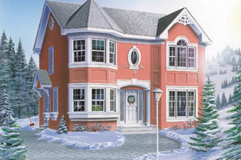 Dream House Plan - Traditional Exterior - Front Elevation Plan #23-270