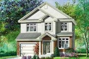 Traditional Style House Plan - 3 Beds 1.5 Baths 1591 Sq/Ft Plan #25-279 Exterior - Front Elevation