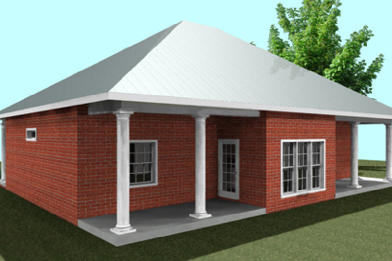 Southern Exterior - Other Elevation Plan #44-161 - Houseplans.com