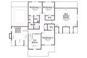 Craftsman Style House Plan - 4 Beds 2.5 Baths 2798 Sq/Ft Plan #419-137 Floor Plan - Upper Floor Plan