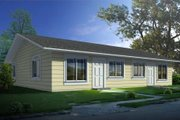 Ranch Style House Plan - 2 Beds 1 Baths 1584 Sq/Ft Plan #1-1300
