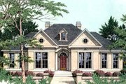 European Style House Plan - 4 Beds 3 Baths 2773 Sq/Ft Plan #406-233