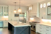 Craftsman Style House Plan - 4 Beds 4 Baths 4140 Sq/Ft Plan #437-116 Interior - Kitchen