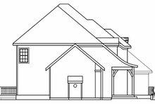 Architectural House Design - European Exterior - Other Elevation Plan #124-542