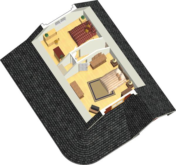 Country Floor Plan - Upper Floor Plan #25-4526