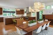 Contemporary Style House Plan - 3 Beds 3.5 Baths 4469 Sq/Ft Plan #928-315 Interior - Kitchen