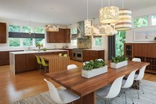 Contemporary Interior - Kitchen Plan #928-315