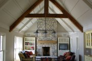 Farmhouse Style House Plan - 3 Beds 2.5 Baths 2208 Sq/Ft Plan #901-8 Interior - Family Room