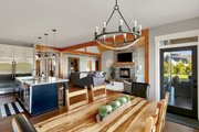 Craftsman Style House Plan - 3 Beds 2.5 Baths 2297 Sq/Ft Plan #1070-15 Interior - Dining Room