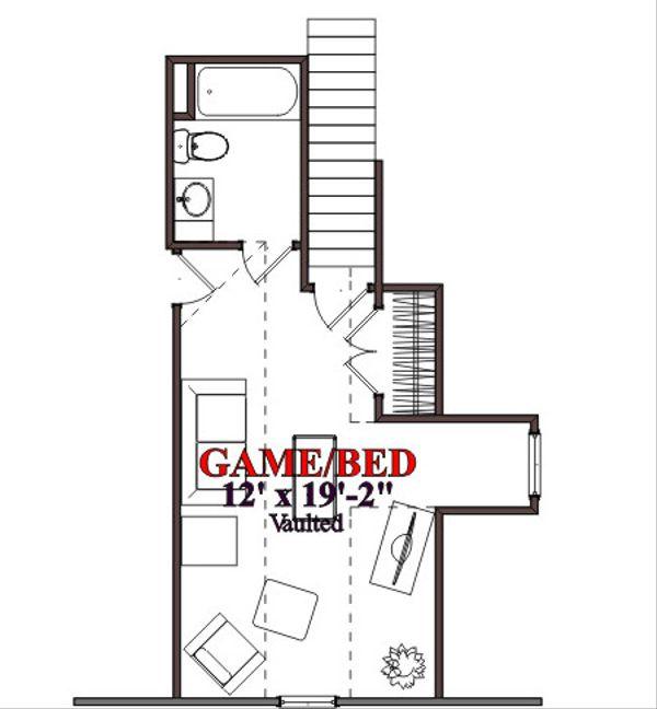 Traditional Floor Plan - Other Floor Plan Plan #63-301