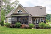 European Style House Plan - 3 Beds 2.5 Baths 2193 Sq/Ft Plan #929-34 Exterior - Rear Elevation