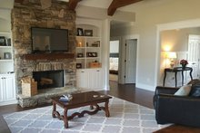 Craftsman Interior - Family Room Plan #119-369