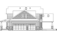 House Plan Design - Craftsman Exterior - Other Elevation Plan #124-582