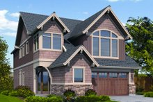 Dream House Plan - Craftsman Exterior - Front Elevation Plan #48-264