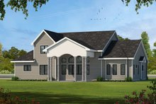 Home Plan - Country Exterior - Front Elevation Plan #20-2133