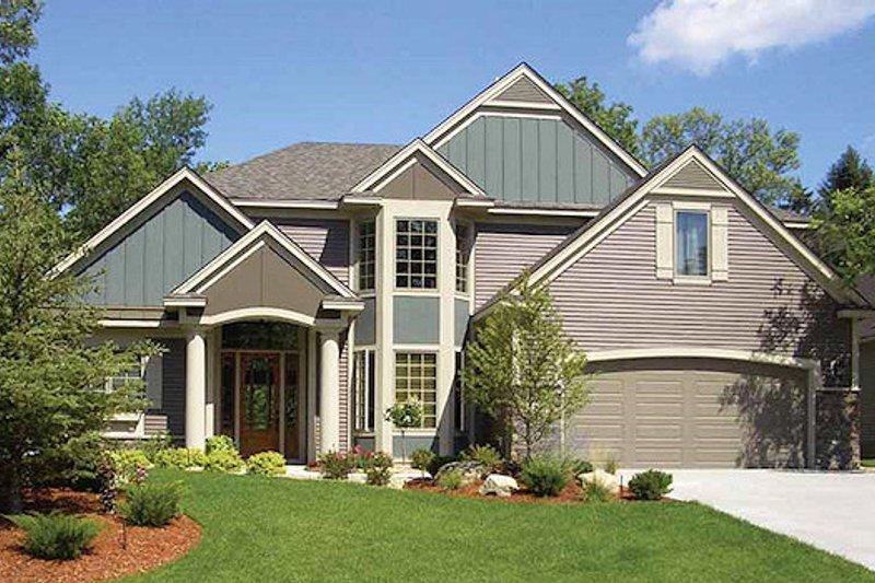 Dream House Plan - European Exterior - Front Elevation Plan #320-484