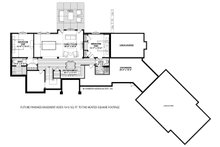 Country Floor Plan - Lower Floor Plan Plan #928-333