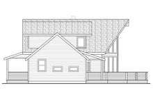 Architectural House Design - Contemporary Exterior - Other Elevation Plan #124-1095