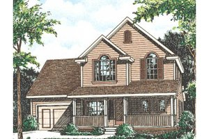 Traditional Exterior - Front Elevation Plan #20-2029