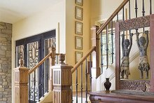 Stairs - 5200 square foot Craftsman Home