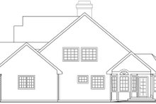 Home Plan - Farmhouse Exterior - Other Elevation Plan #124-419