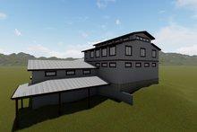 Dream House Plan - Farmhouse Exterior - Rear Elevation Plan #1060-80