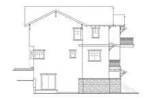 Craftsman Exterior - Other Elevation Plan #124-549