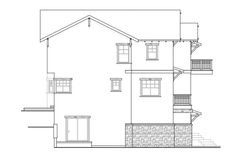 Craftsman Exterior - Other Elevation Plan #124-549 - Houseplans.com