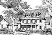 Traditional Style House Plan - 4 Beds 4.5 Baths 4067 Sq/Ft Plan #329-314