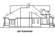 Tudor Style House Plan - 4 Beds 3.5 Baths 3489 Sq/Ft Plan #60-241 Exterior - Other Elevation