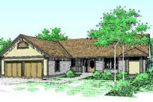 Traditional Exterior - Front Elevation Plan #60-477