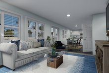 Traditional Interior - Family Room Plan #1060-68