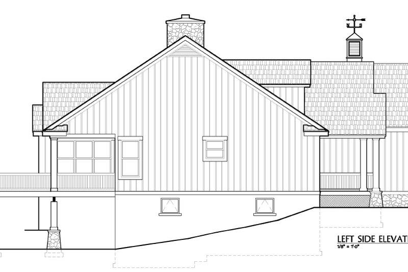 European Exterior - Other Elevation Plan #417-239 - Houseplans.com