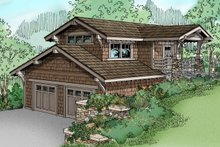 Home Plan - Craftsman Exterior - Front Elevation Plan #124-650