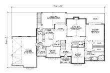 European Floor Plan - Main Floor Plan Plan #5-350