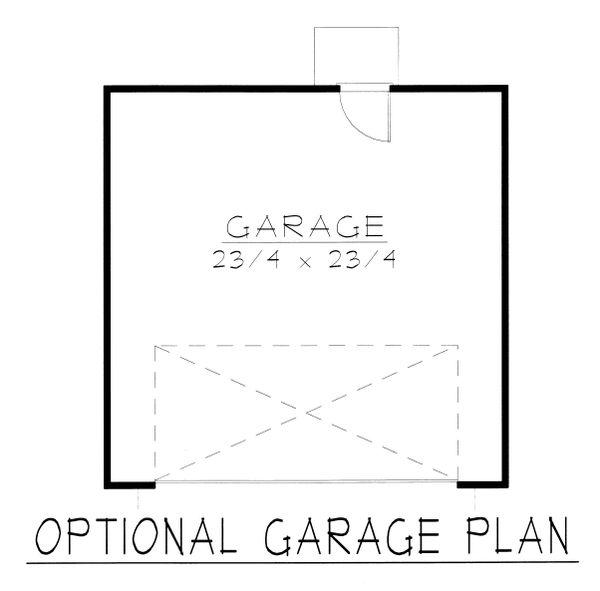 Dream House Plan - Craftsman Floor Plan - Other Floor Plan #112-159