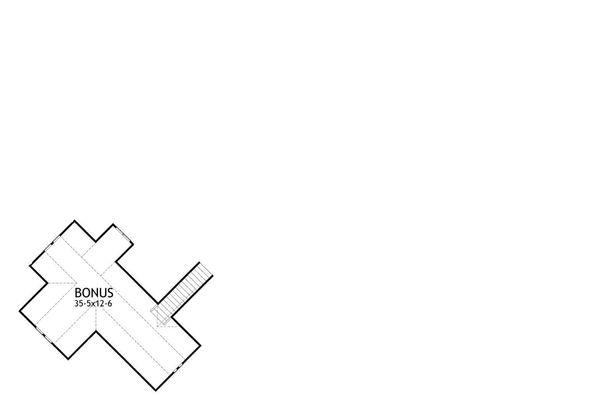 Architectural House Design - Optional Bonus Area