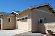 Craftsman Style House Plan - 3 Beds 2 Baths 1592 Sq/Ft Plan #895-34 Exterior - Rear Elevation