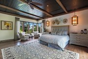 Beach Style House Plan - 4 Beds 4.5 Baths 5680 Sq/Ft Plan #548-12 Interior - Master Bedroom