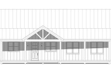 Country Exterior - Front Elevation Plan #932-87