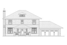 Traditional Exterior - Front Elevation Plan #901-24