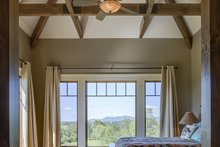 Ranch Interior - Master Bedroom Plan #929-655