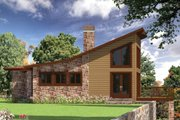 Modern Style House Plan - 3 Beds 2.5 Baths 2160 Sq/Ft Plan #437-55 Exterior - Other Elevation