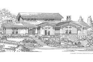 Traditional Exterior - Front Elevation Plan #490-30