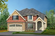 Traditional Style House Plan - 3 Beds 2.5 Baths 2960 Sq/Ft Plan #132-136 Exterior - Front Elevation