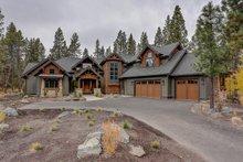 Craftsman Exterior - Front Elevation Plan #892-28