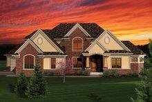 Craftsman Exterior - Front Elevation Plan #70-1060
