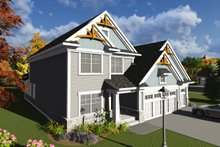 Dream House Plan - Traditional Exterior - Front Elevation Plan #70-1246