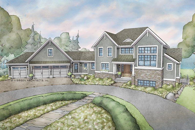 House Plan Design - European Exterior - Front Elevation Plan #928-342