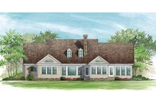 Country Exterior - Rear Elevation Plan #137-156